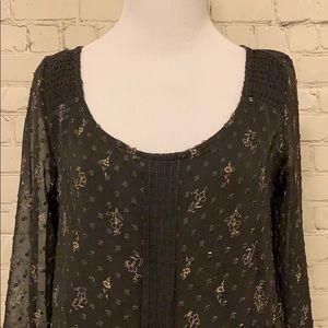 LC Lauren Conrad Tops - LC Lauren Conrad Sheer Long Sleeve Top. NWT